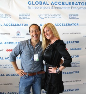 Lyn Graft and Jen Groover at the UN Foundation Global Accelerator Event