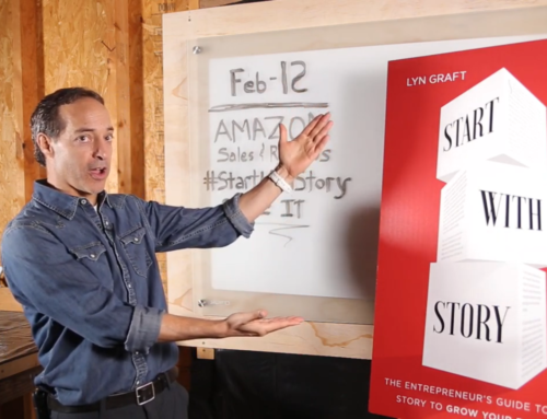 Start With Story Book Announcement Video … And a bit about finding your calling