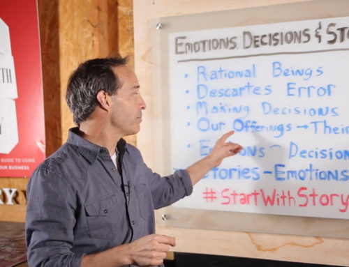 Stories Influence Emotions. Emotions Influence Decisions. Hence, Founders-Tell Stories-EP-006